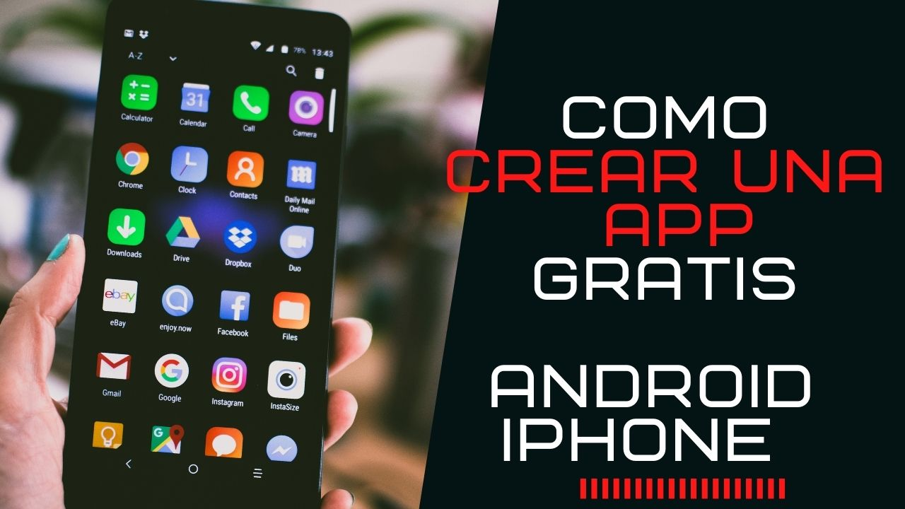 Crea tu app online